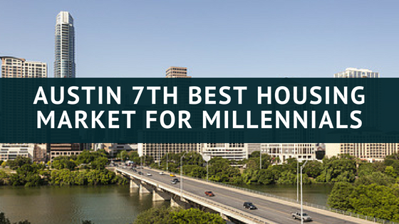 Austin 7th Best housing market for millennials